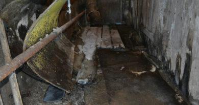 Пример претензии. Вода в подвале дома и хлам